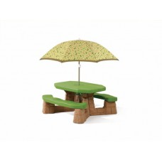Kinderpicknicktafel met parasol - Naturally Playful - Step2