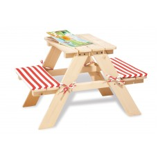 Picknicktafel voor 2 naturel