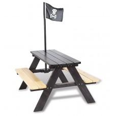 Picknicktafel voor 4 piraat
