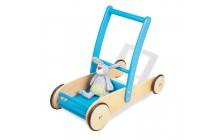 Loopwagen blauw