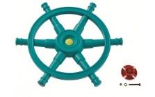 Stuurwiel Boot 'Star' turquoise
