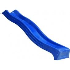 Glijbaan 240 cm. kleur blauw