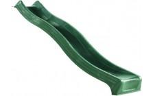 Glijbaan 240 cm. kleur groen