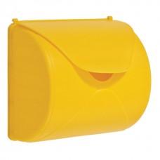 Brievenbus geel