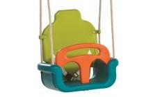 Babyzitje megroei model lime groen/turquoise/oranje
