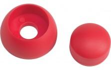 kunststof afdekdop voor bouten - 8-10 mm - rood