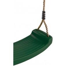 Kunststof schommelzit groen