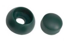 kunststof afdekdop voor bouten - 8-10 mm - groen