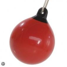 """Boeibal schommel """"drop"""" rood"""