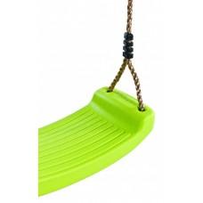 Kunststof schommelzit lime groen