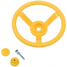 stuurwiel geel