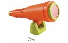 telescoop 'star'  oranje - limoen groen